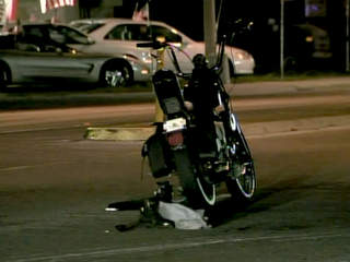 Motorcyclist dies after crashing into PSTA bus