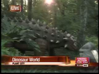 Sean Daly at Dinosaur World Segment 1