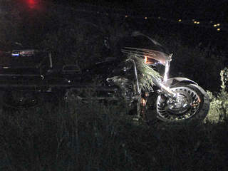 Motorcyclist dies in crash after hitting curb when Providence Road ...