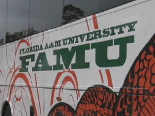 Florida A&M University FAMU bus