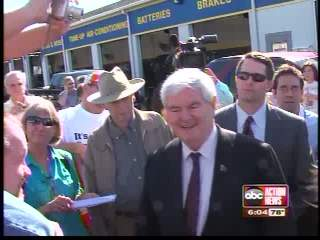 Gingrich Rallies Conservatives Despite Losing Florida Primary