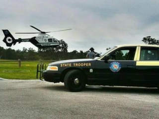 Florida Highway Patrol cruiser helicopter generic crime FHP