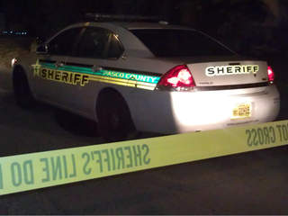 Pasco County Sheriffs Office crime scene generic