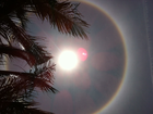 What's that rainbow ring around the sun?