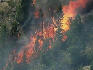 Laporte Colorado wildfire