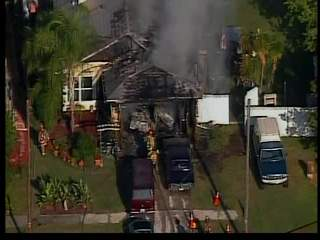 Fire badly damages Oldsmar home