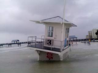 Rick Johnson - Lifeguard tower on Clearwater Beach