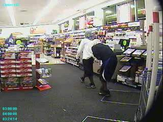 Walgreen's armed robbery caught on video