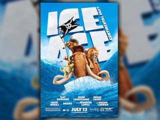 Ice Age Continental Drift movie poster