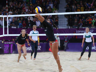 US Women's beach volleyball team