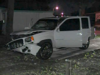 Largo hit and run suspect SUV