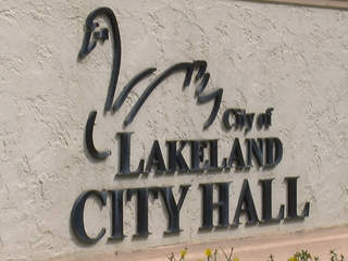 Lakeland City Hall sign