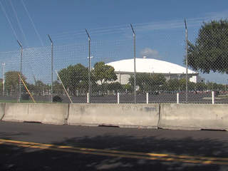 Tropicana Field RNC barbed wire