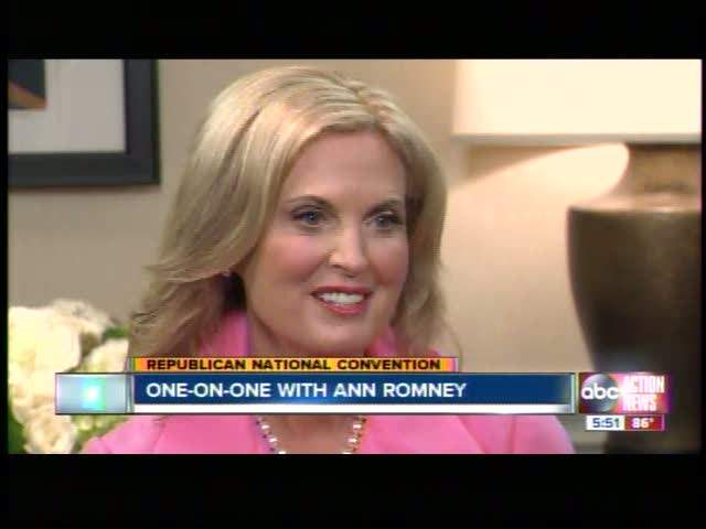 Linda Hurtado interviews Ann Romney