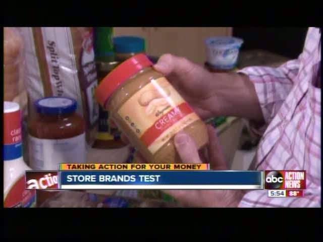 Consumer Reports: Store brands vs name brands