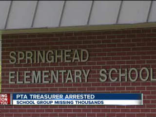 Former PTA treasurer charged after $25,000 fund down to $500
