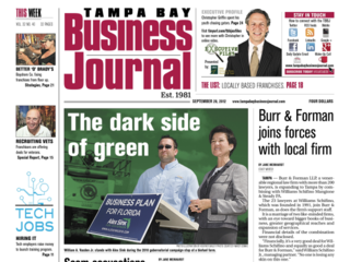 Tampa Bay Business Journal September 28 2012