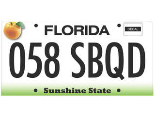 proposed Florida license plate