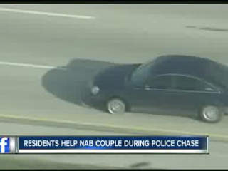 Three detained after hour-long car chase up and down Interstate 4