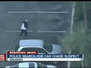 Three detained in after hour-long car chase up and down Interstate 4