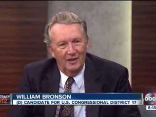 Democracy 2012: Interview with Democrat candidate for US Rep District 17, William Bronson