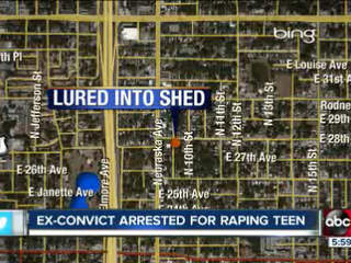 Man arrested for forcing 14-year-old boy into shed, sexually assaulting him