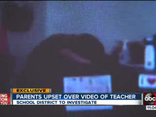 Parents upset over special ed teacher video