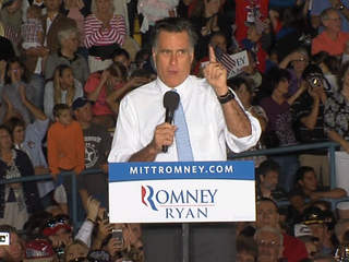 Mitt Romney in Land O' Lakes