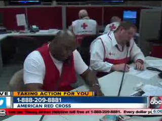 Taking Action for Sandy Victims: ABC Action News- Red Cross help line