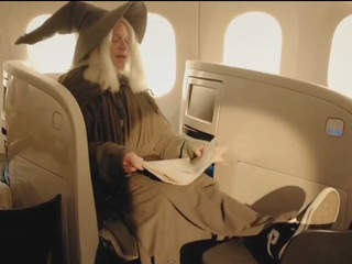 Air New Zealand Hobbit flight safety video