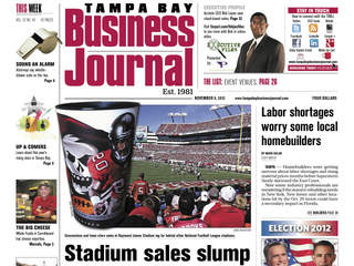 Tampa Bay Business Journal November 9 2012