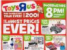 Toys R Us Black Friday ad released