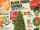 Home Depot Black Friday specials