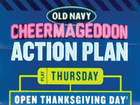 Old Navy's Black Friday 'Action Plan'