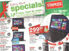 Deals at Staples on Black Friday