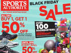 Doorbuster deals at The Sports Authority