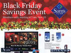 Sam's Club Black Friday for members