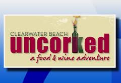 Uncorked food and wine adventure comes to clearwater beach for Abc salon equipment in clearwater fl