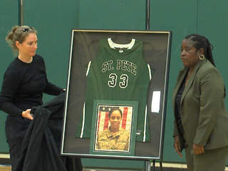 Brittany Gordon jersey retired