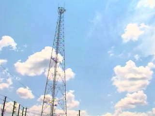 Progress Energy communications transmission tower
