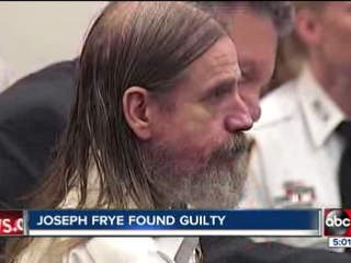 Joseph Frye to serve four life sentences for raping, brutalizing a 75-year-old woman
