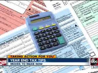 Five things you can do by year's end to bolster your tax refund