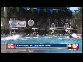 Swimmers take laps for recognition