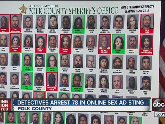 story three arrested in online prostitution sting