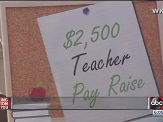 Florida teacher pay raise