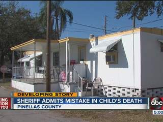 Pinellas Sheriff calls for changes to procedures after 5 year-old dies in foster care
