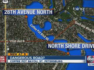 St. Petersburg takes closer look at safety on Coffee Pot Blvd.