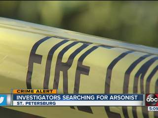 Police say arsonist set six fires in one neighborhood