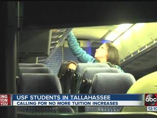 USF students travel to Tallahassee to talk with lawmakers