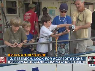 Parents in Action: Choosing the best summer camp for your child